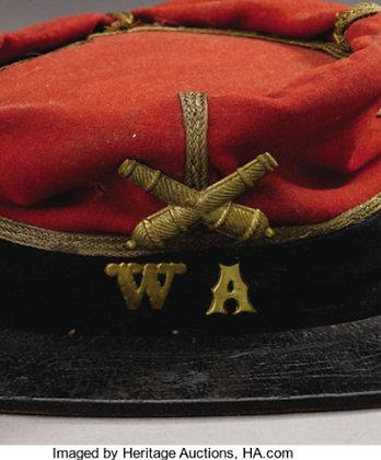Artillery False Embroidered (Gold) Insignia