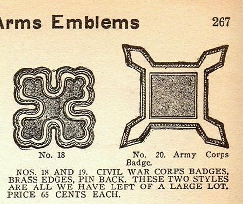 Cloth Center Bannerman's Style Badge