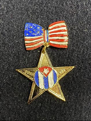 Free Cuba Badge