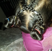 I do my kids hair once a week. As a full