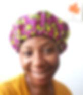 ayobe printed bonnet CEO