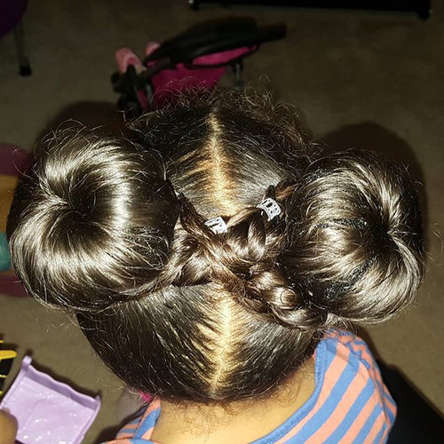 Because #mega #spacebuns are always in s
