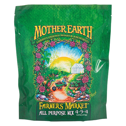 Mother Earth Farmers Market All Purpose Mix 4-5-4 4.4LB