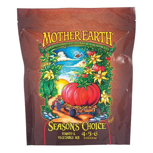 Mother Earth Seasons Choice Tomato & Vegetable Mix 4-5-6