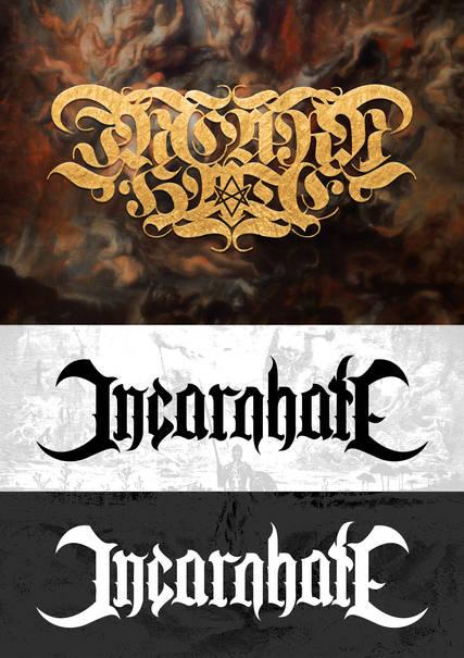 Prototype de logo pour INCARNHATE