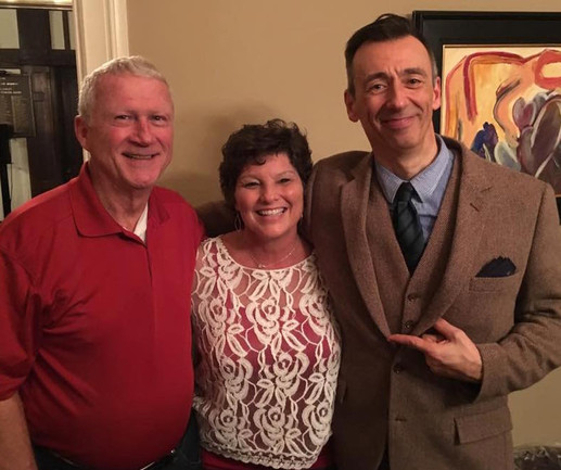 Mark Cabus with Ken and Michelle Bush