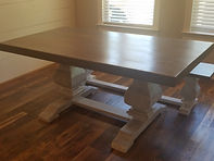 6 FT Trestle Dining Table - Color of you Choice