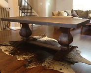 8 FT Trestle Dining Table - Color of you Choice