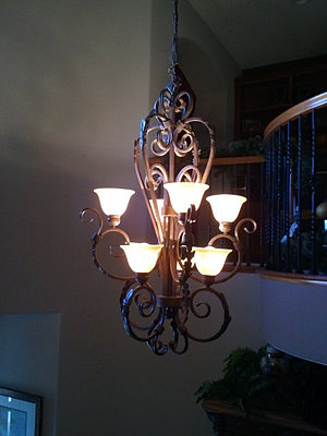 Stairwell Light Fixture