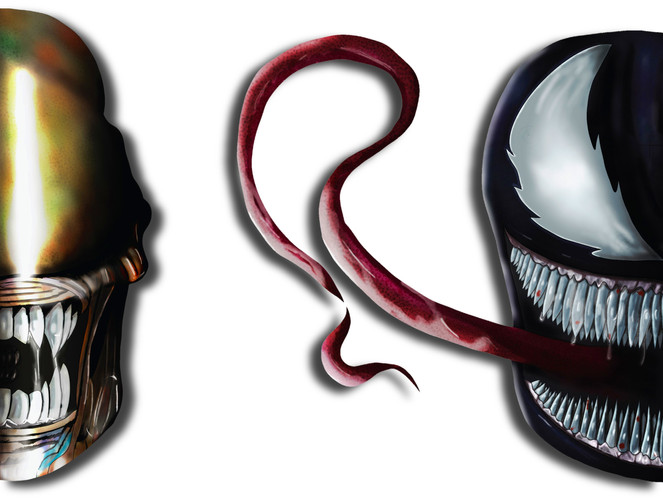 Venom and Xenomorph