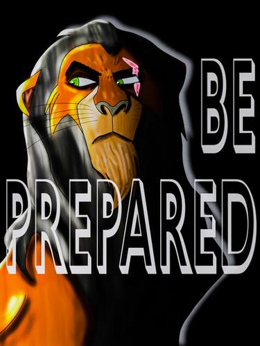 Scar - Be Prepared