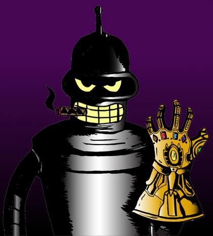 Bender's Infinity Gauntlet