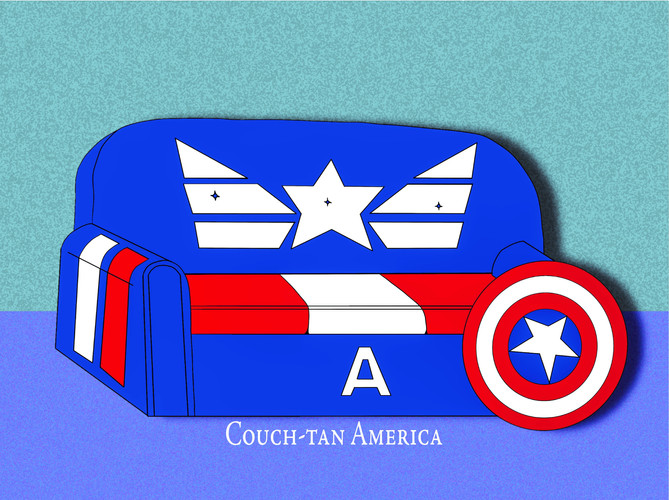 Couch-tan America