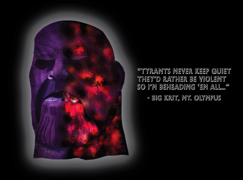 Beheaded Thanos