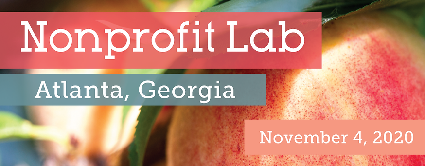 2020 Nonprofit Conference Atlanta