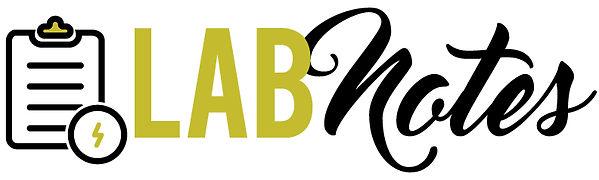 Blog Header for Lab Notes