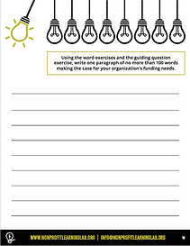 Sample page of unique organization activity sheet