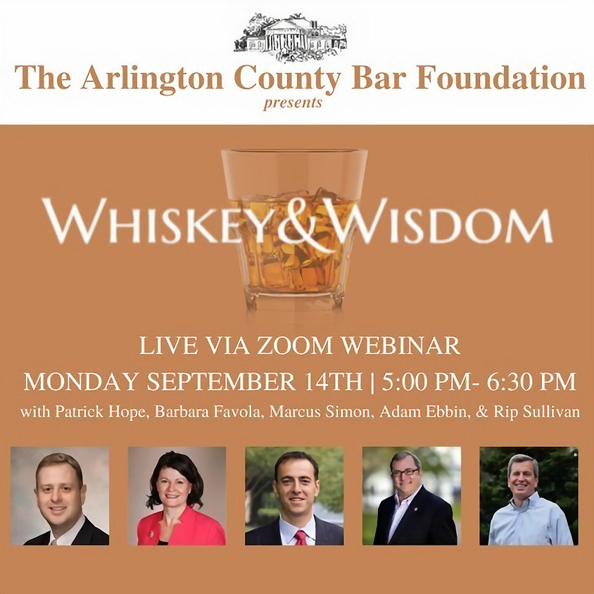 Whiskey & Wisdom: Via Zoom