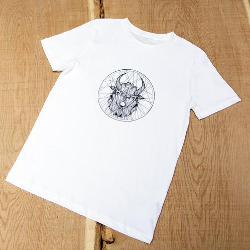 Bison T-Shirt - White