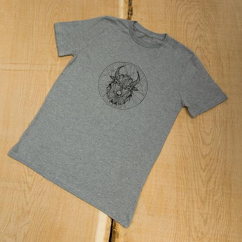 Bison T-Shirt - Sports Grey