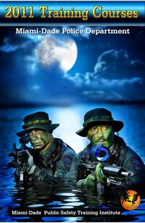 Miami Dade Police Training Brochure Cover