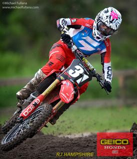 Team Geico Pro Rider RJ Hampshire