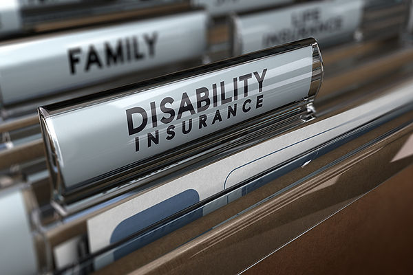 disability insurance, planning for incapacity, family estate planning, financial plan for disability
