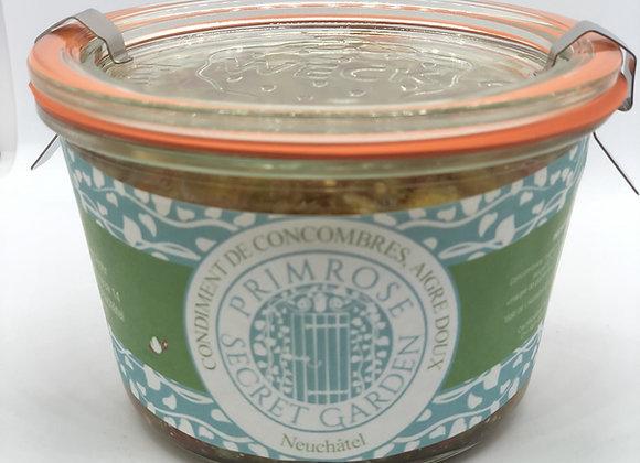 Condiment de Concombre Aigre Doux