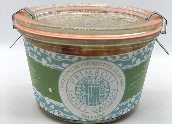 Condiment de Courgettes Aigre Doux