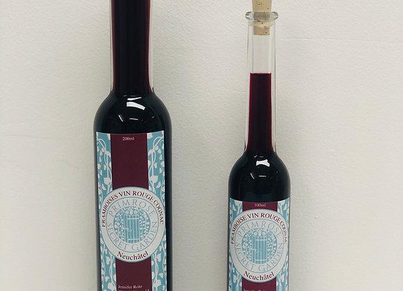 Liqueur de Framboise, Vin Rouge & Cognac