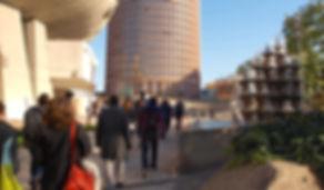 Explorer la Part-Dieu avec Nomade Land Fabrique de promenades urbaines à Lyon