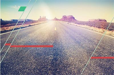 autoroute géométrique