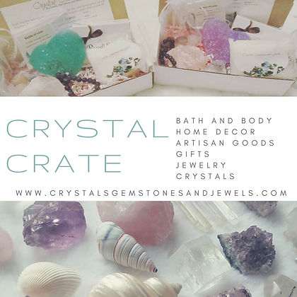 woo woo subscription boxes, crystal subscription boxes