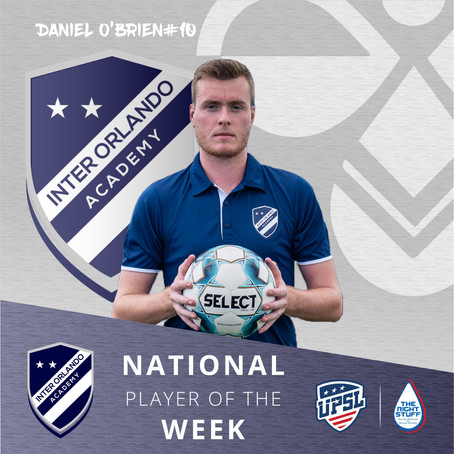 Another National Player of the Week!