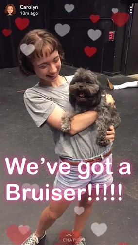 Legally Blonde Rehearsals 2018