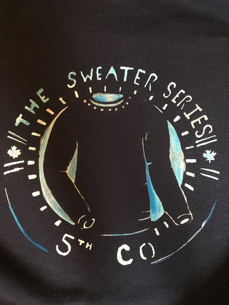 Sweater Series Screenprint