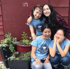 2019 Young Company (Cristina, Elina and Kelly)