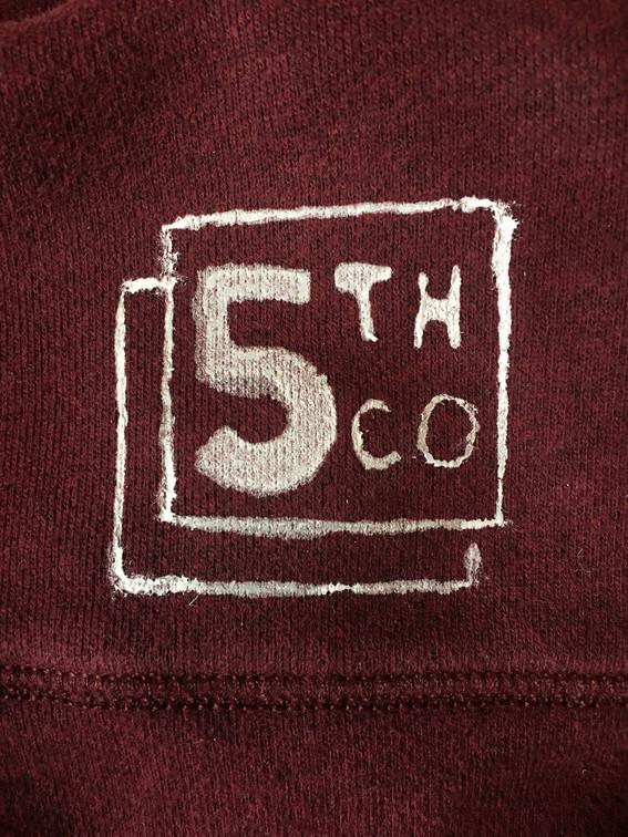 Logo Screenprint for 5th Company Lane