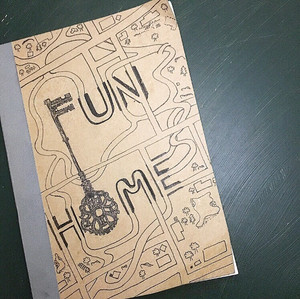 Title page design for FUN HOME