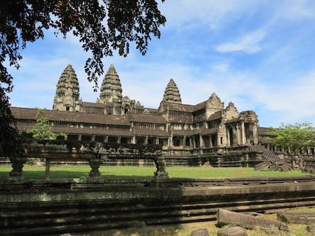 The Dancing Nymphs of Angkor, CAMBODIA