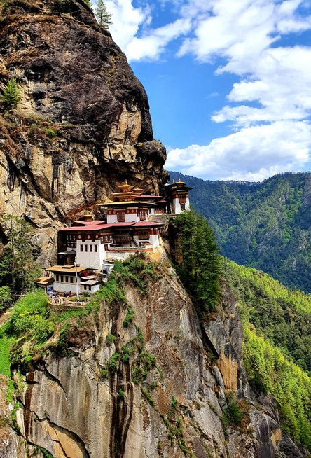 In Bhutan's Thunder Dragon's Tigers Nest