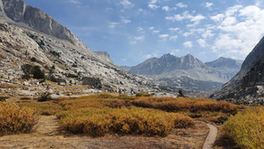 Great Western Loop: Day 182 - 188: Mammoth Lakes to Lone Pine