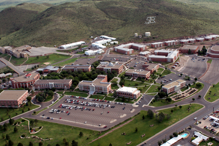 Sul Ross aerial photo
