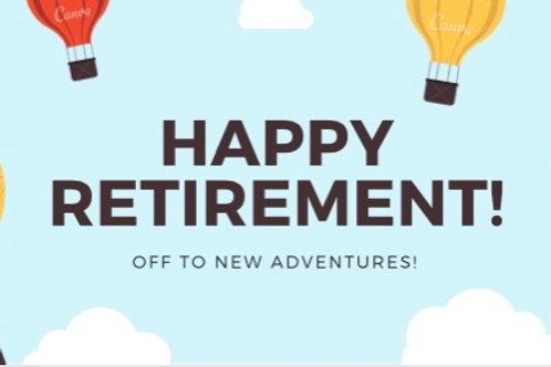 Donor Card- Happy Retirement II
