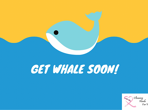 Donor Card-Get Whale Soon