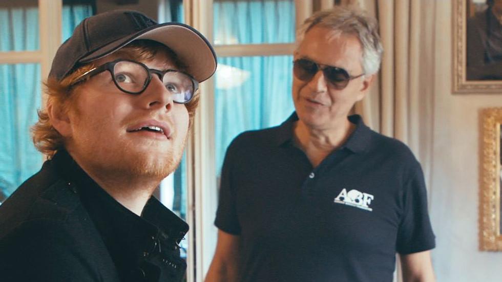 "Ed Sheeran & Andrea Bocelli - ""Perfect Symphony"""