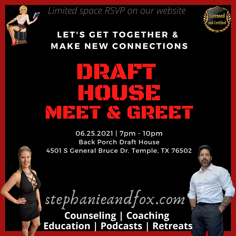 MEET n GREET (Back Porch Draft House)