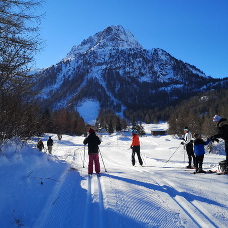 Ski nordique à Vallorcine