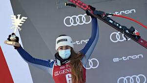Una strepitosa Sofia Goggia vince la seconda discesa in Val d'Isere