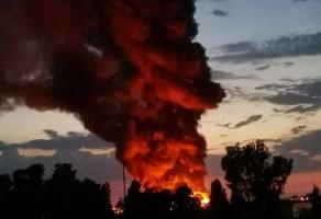 Incendio a Ostia